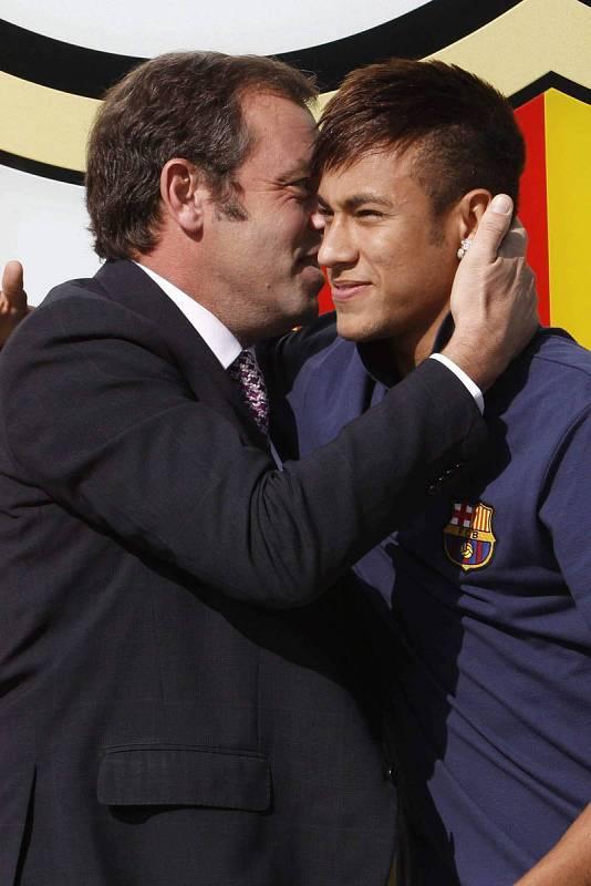 Neymar, fichaje estrella de Sandro Rosell