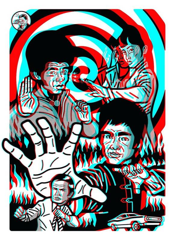 'Enter the dragon 3D' (Bruce Lee)
