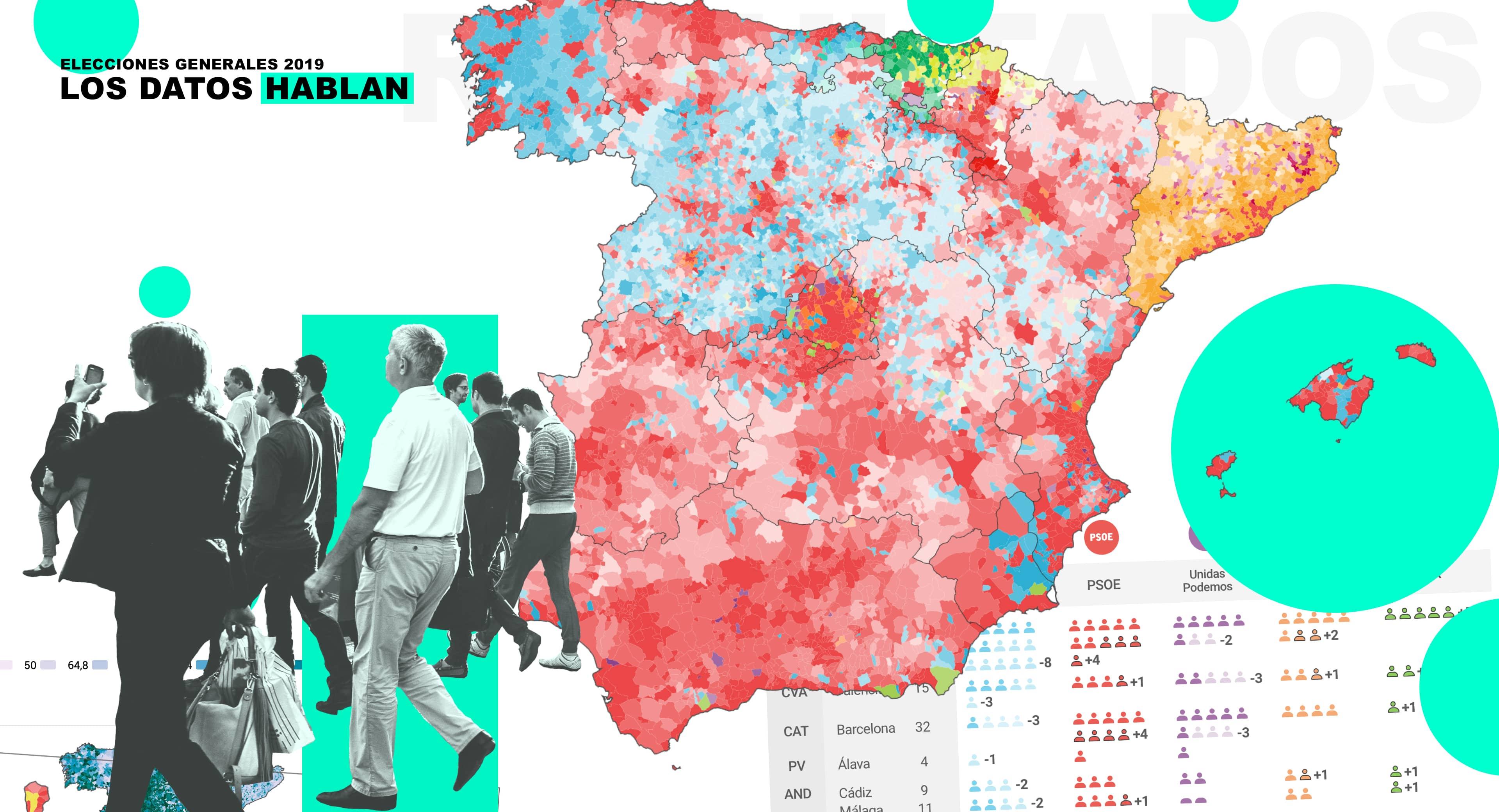 Analizamos los resultados electorales a través de mapas y gráficos interactivos