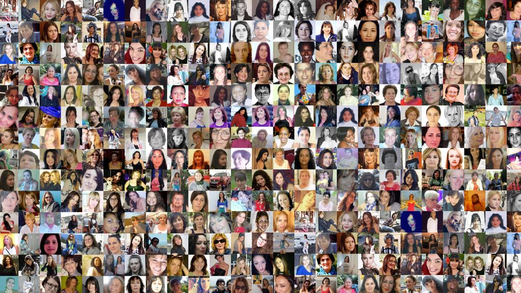 Un retrato a la vida de las 1000 mujeres asesinadas