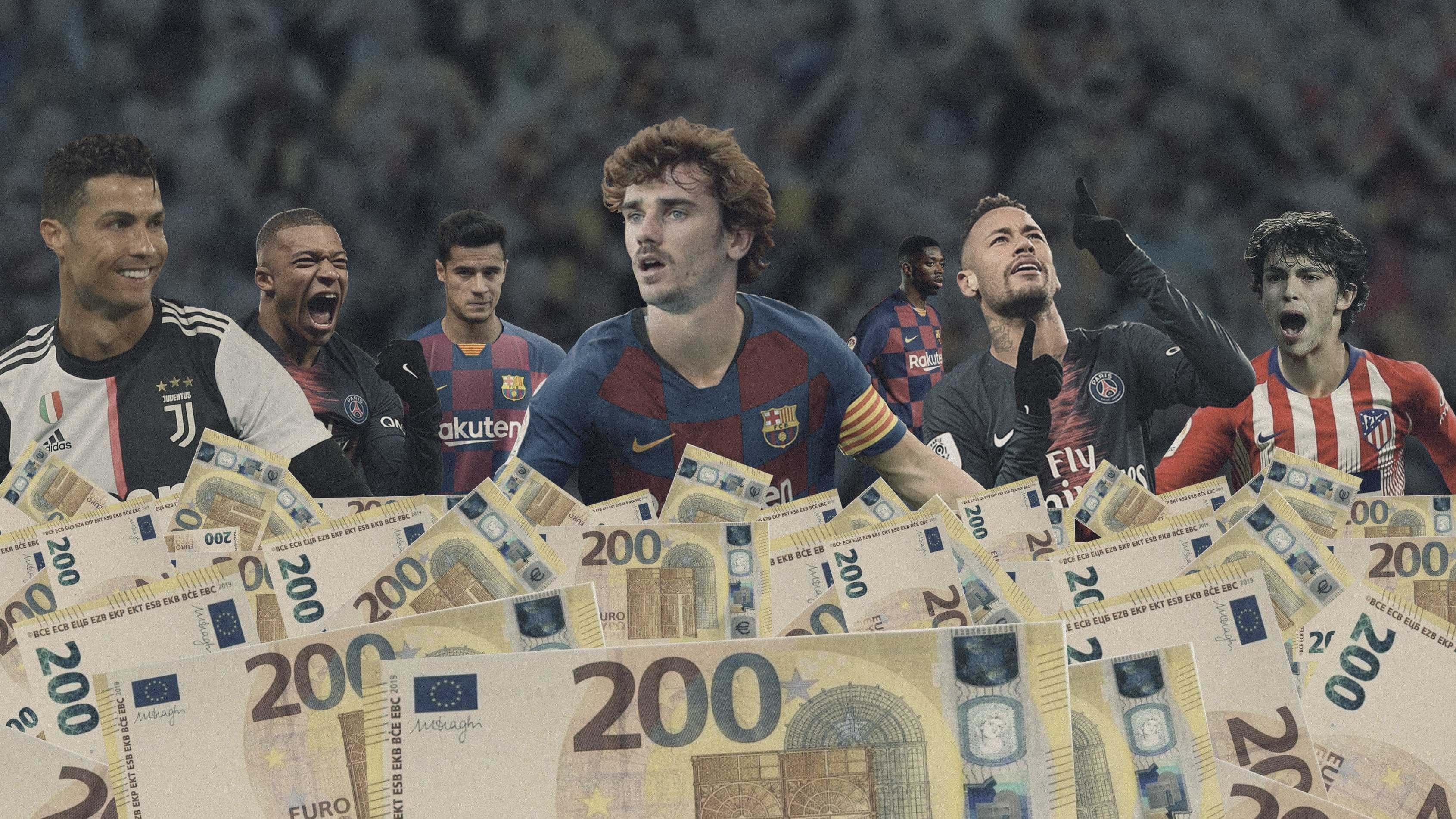 Los fichajes más caros de la historia del fútbol