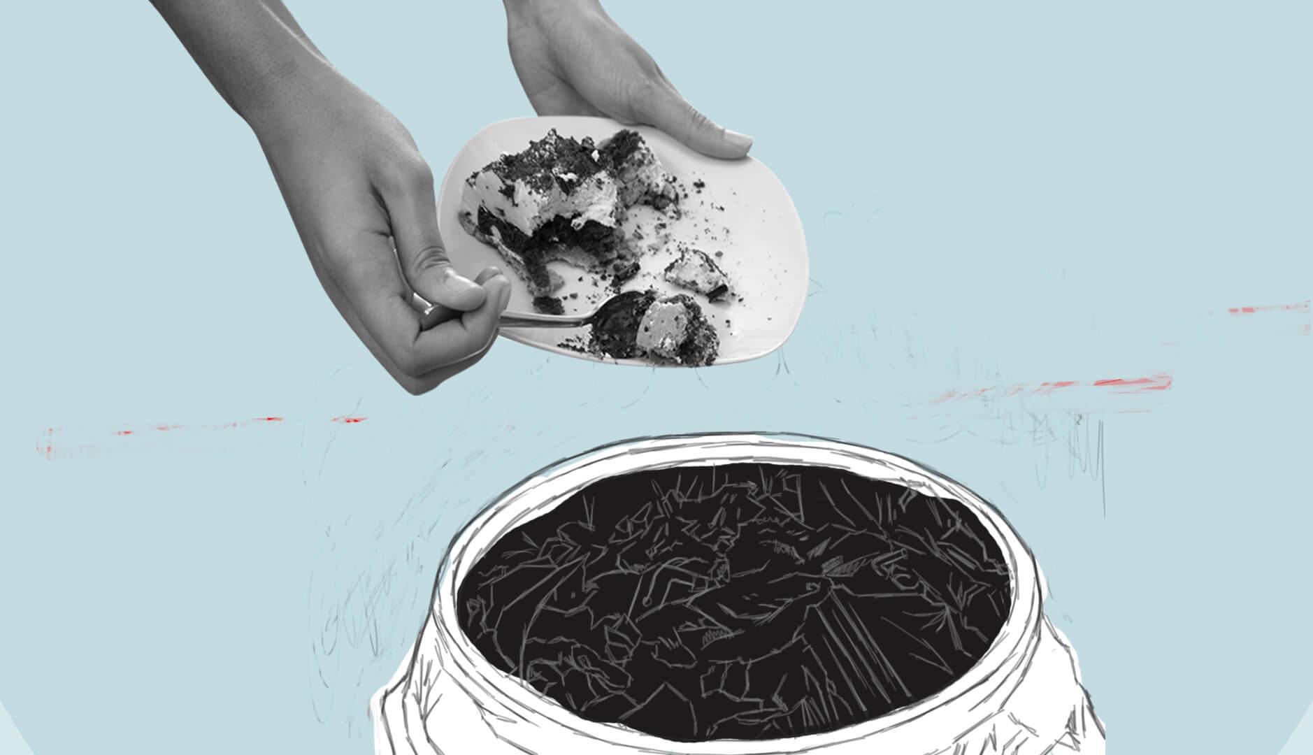 ¿Cuánta comida tiramos a la basura?
