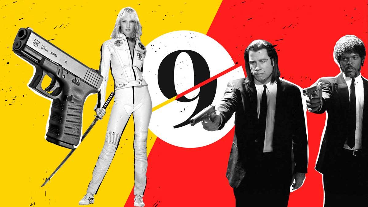 Tarantino, un director de culto en nueve películas