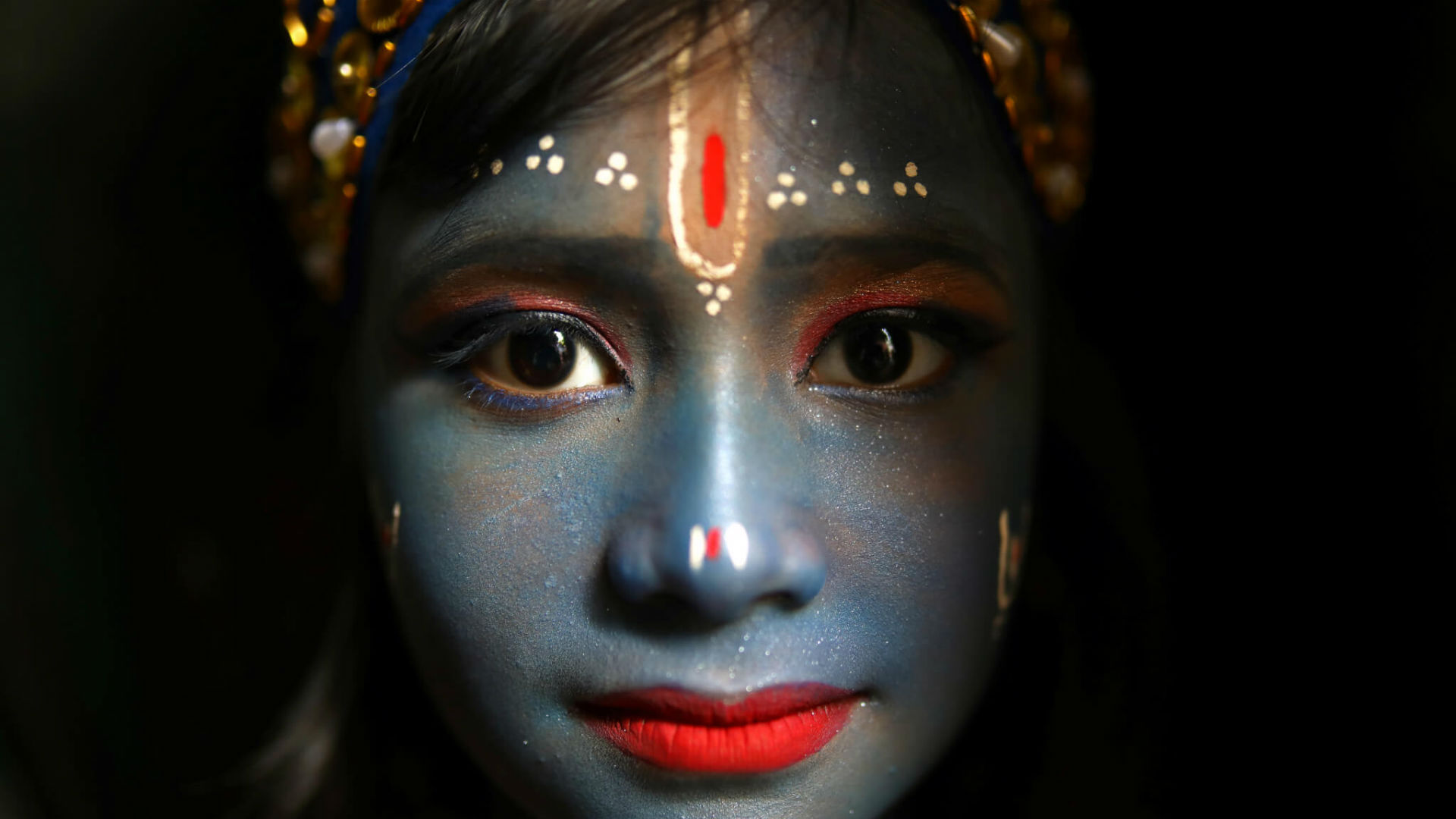 La celebración del Janmashtami en la India