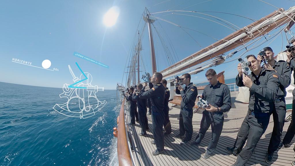 Navega en un viaje virtual con Elcano