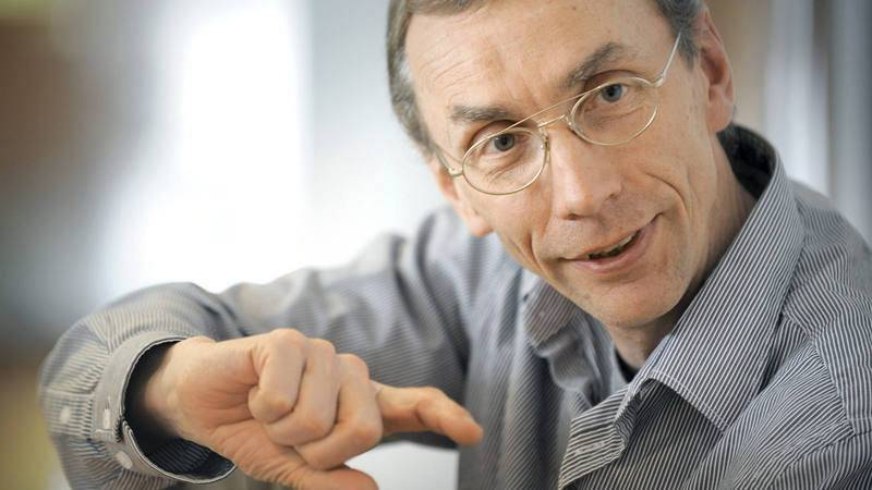 Fotografía del científico sueco Svante Pääbo, director del Instituto Max Planck