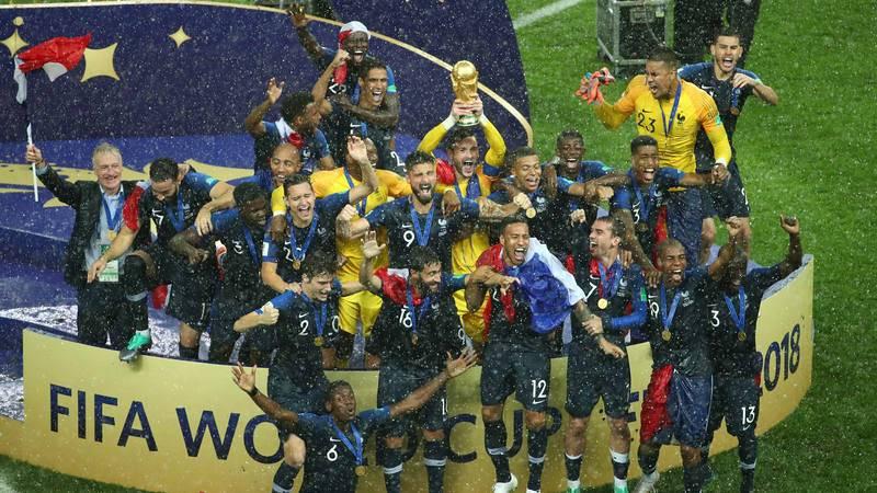 Francia se proclama campeona del Mundo en Rusia