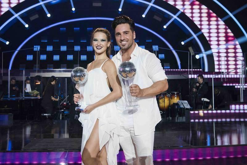 David Bustamante y Yana Olina, ganadores de la primera edición de 'Bailando con las estrellas'
