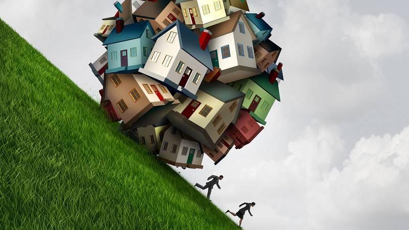 Ilustración sobre hipotecas basura