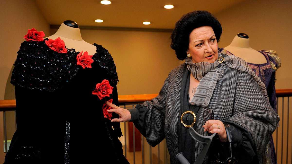 Elogios y palabras de cariño para Montserrat Caballé en la capilla ardiente en Barcelona