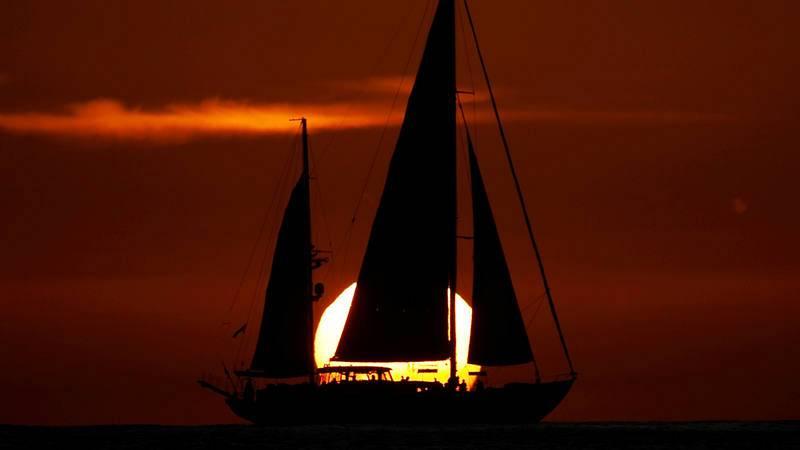 El barco con bandera británica Astral, de la ONG Proactiva Open Arms, el pasado 7 de octubre.
