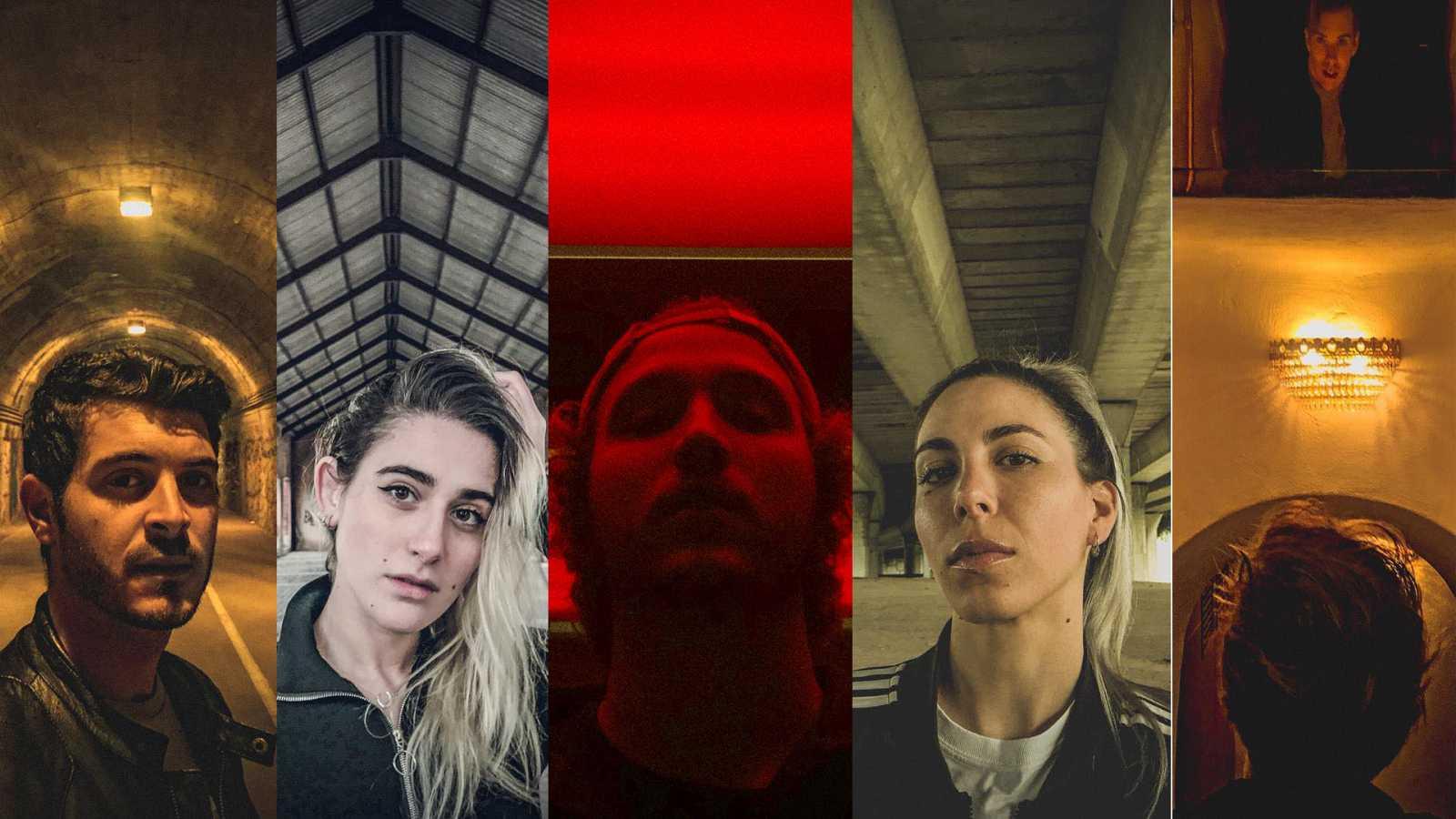 Álex Puértolas, Anna Linares, Antón Lofer, Pau Clavero y Giovanna Bravar son los protagonistas de 'Cam-On'