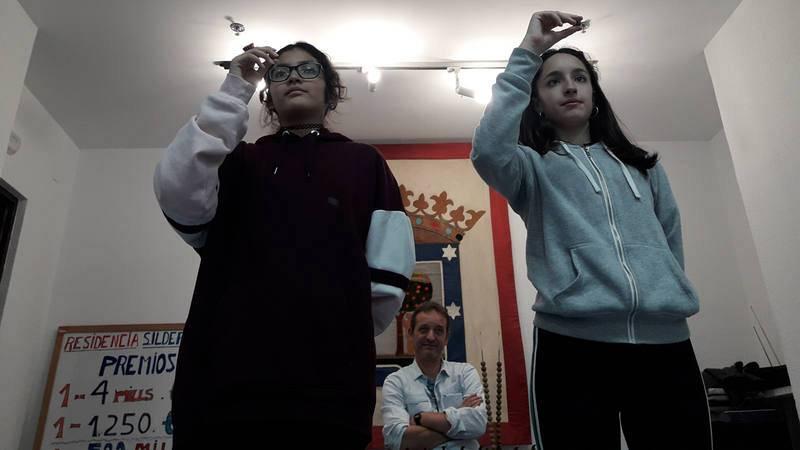 Dos niñas de San Ildefonso