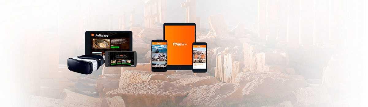 Descarga la app de realidad virtual interactiva'Ingeniería Romana RTVE