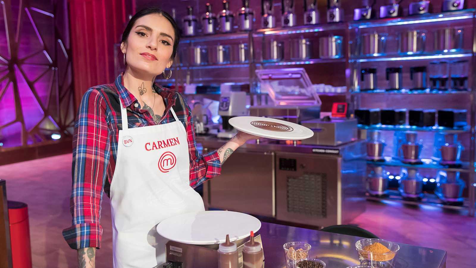 Carmen, creativa y con carácter