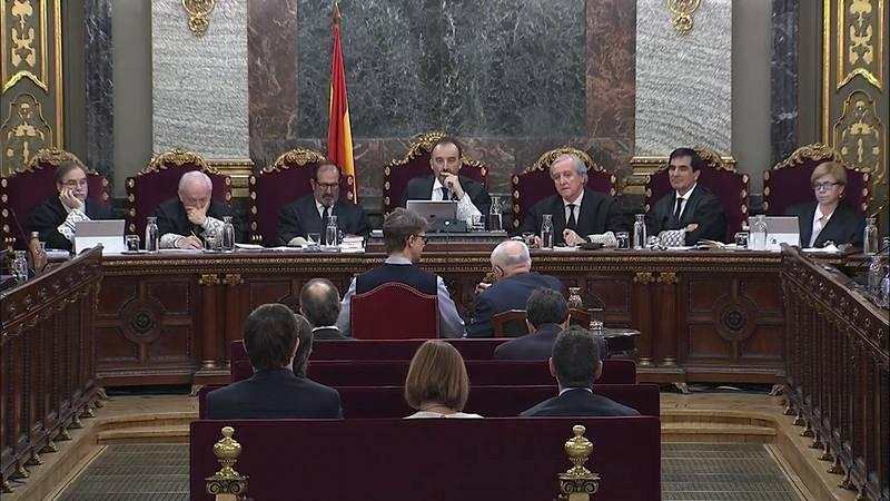 Alrededor de 500 testigos han declarado en el juicio del 'procés' en el Tribunal Supremo