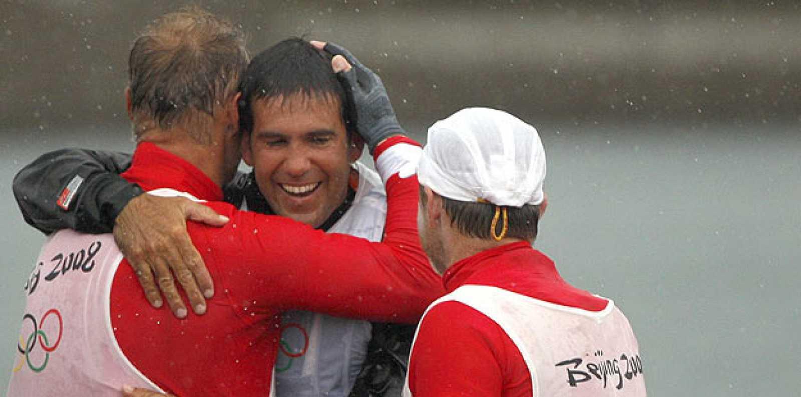 Echávarri y Antón son los mejores deportistas en la clase tornado.
