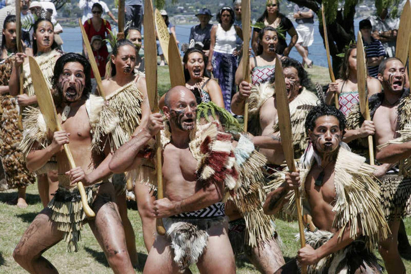 Las Tribus Maories Recuperan Sus Tierras Ancestrales En Nueva - Tribus-maories