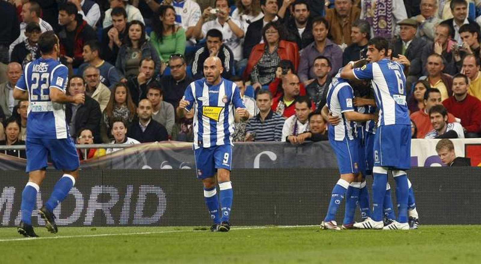 El Espanyol ha sacado un punto de su visita al Santiago Bernabéu.