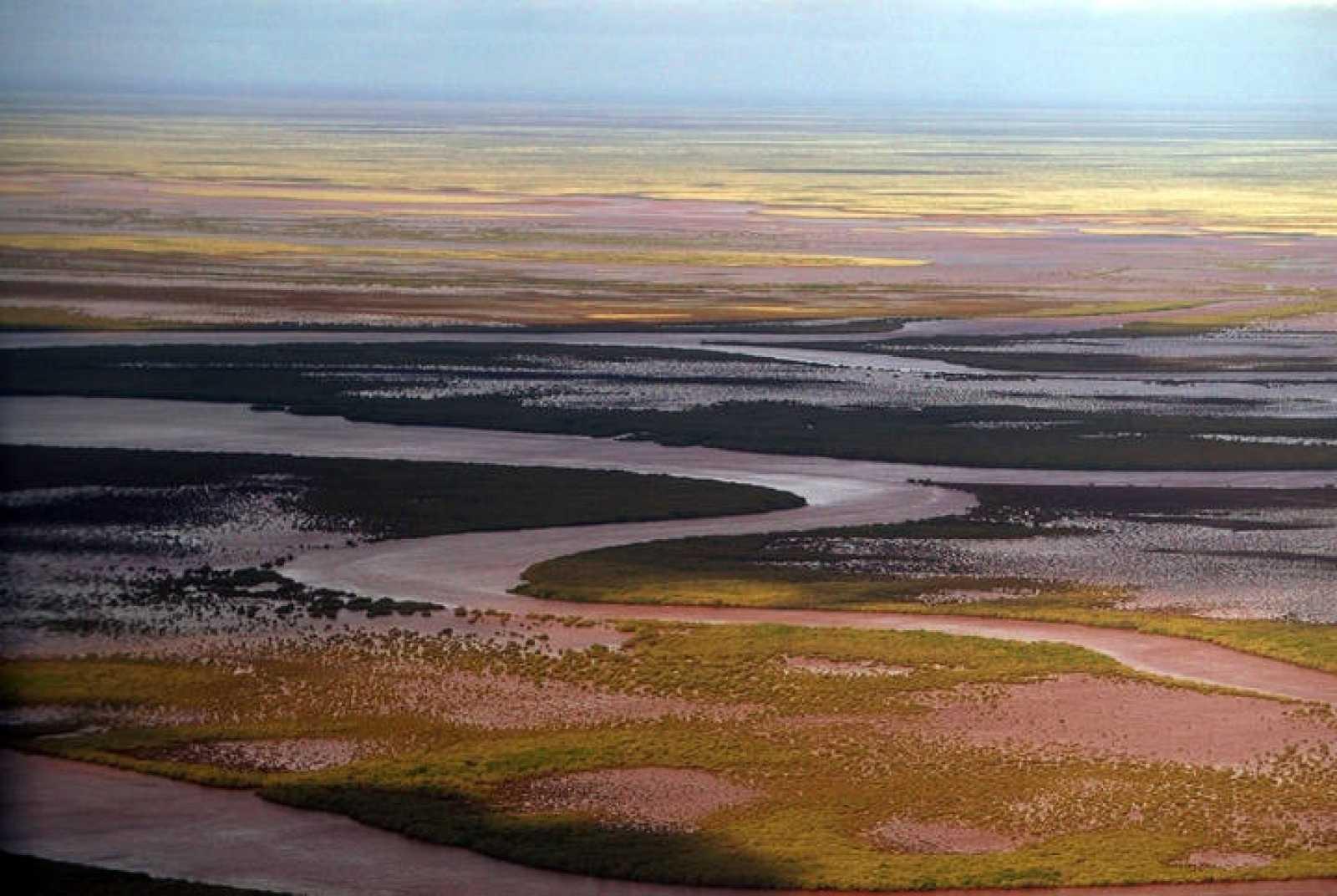 Imagen de la región de Pilbara, en Australia, donde se han hallado los indicios de vida.