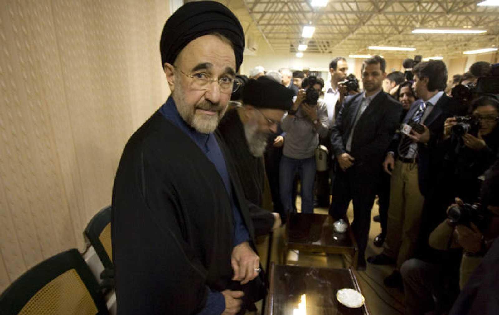 Jatamí gobernó Irán desde 1997 hasta 2005.