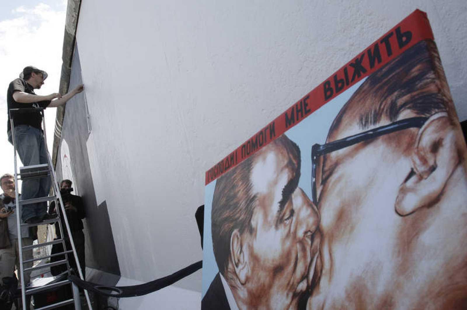 Russian artist Dmitry Vrubel starts work in Berlin