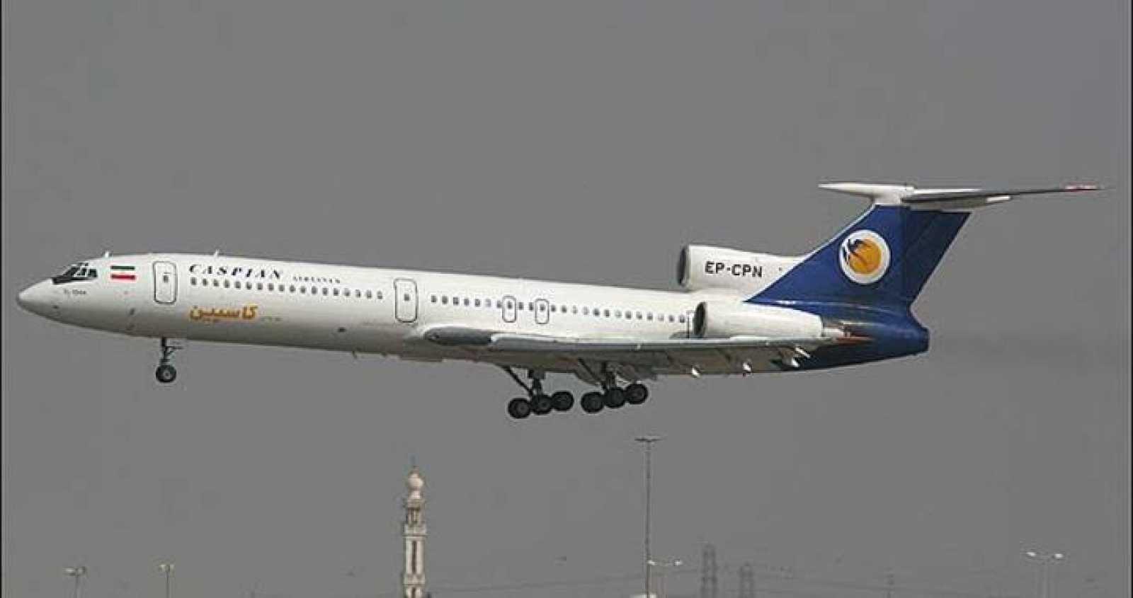 Tupolev TU-154M de Caspian Airlines