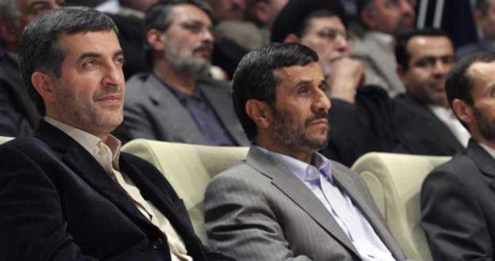 Ahmadinejad y Mashaei