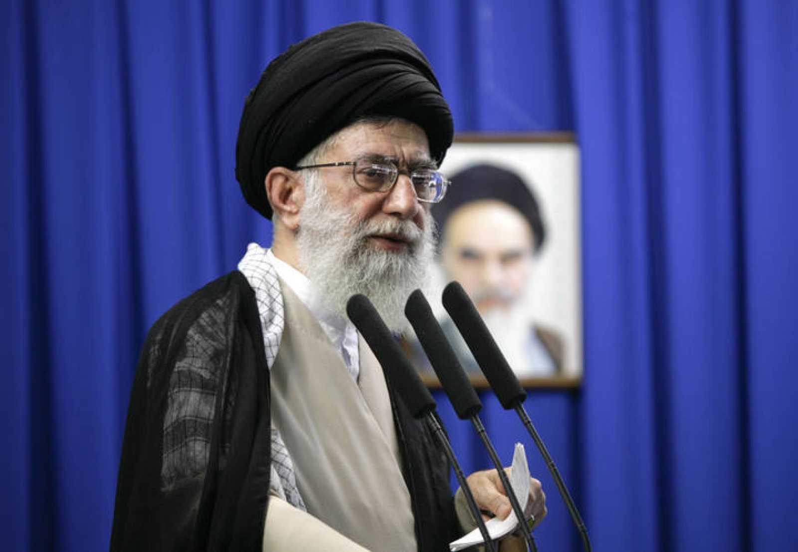 El líder supremo de la Revolución iraní, Ali Jamenei
