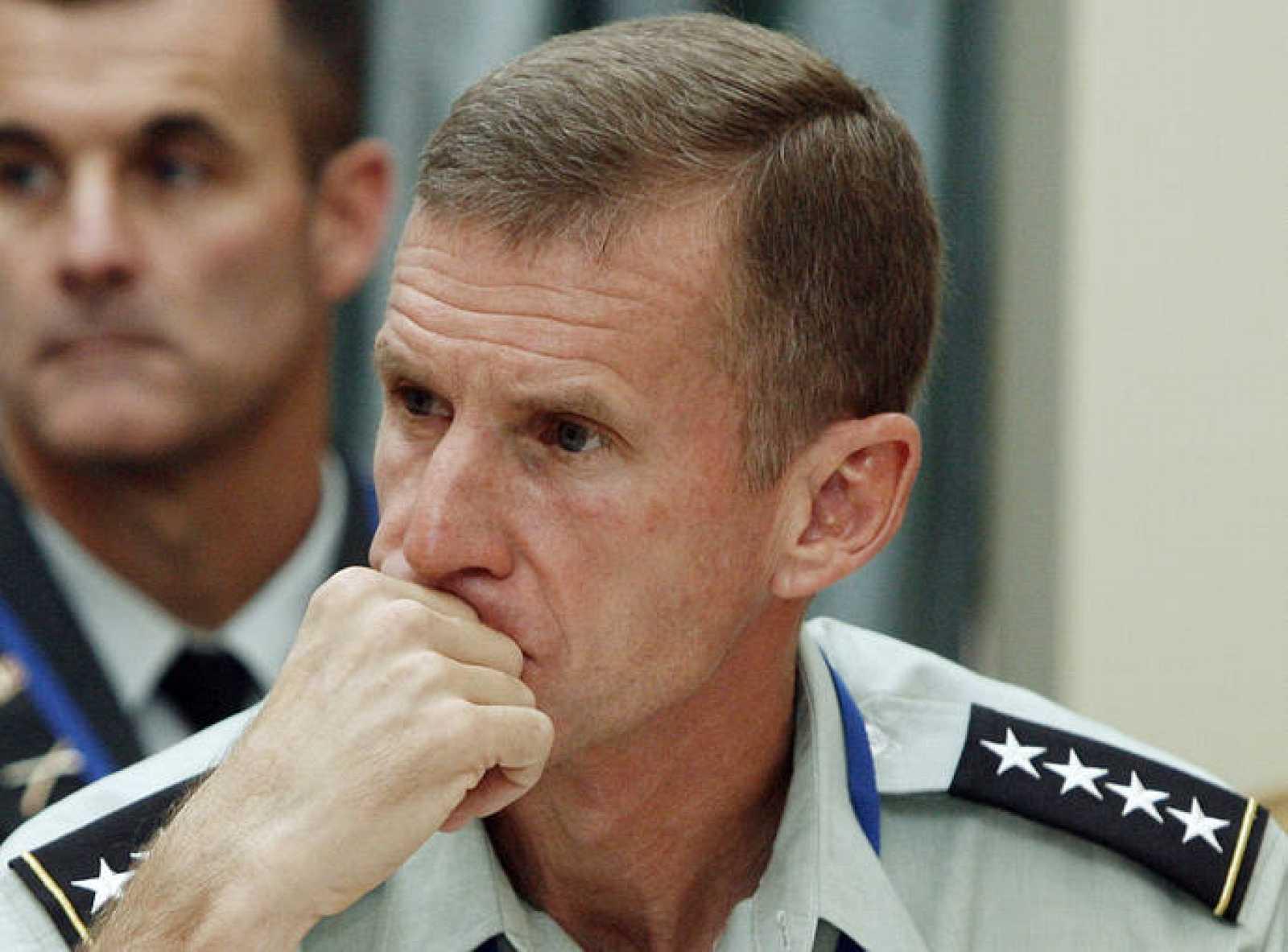El comandante de la ISAF en Afganistán, Stanley McChrystal
