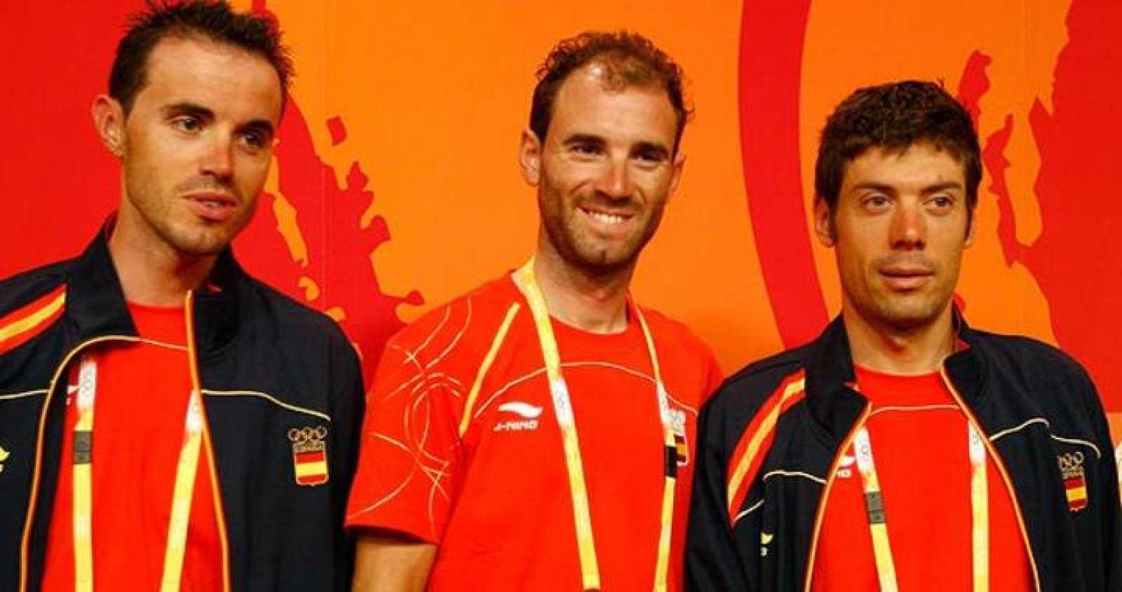Samuel Sánchez, Alejandro Valverde y Óscar Freire competirán en la prueba de ciclismo en ruta.