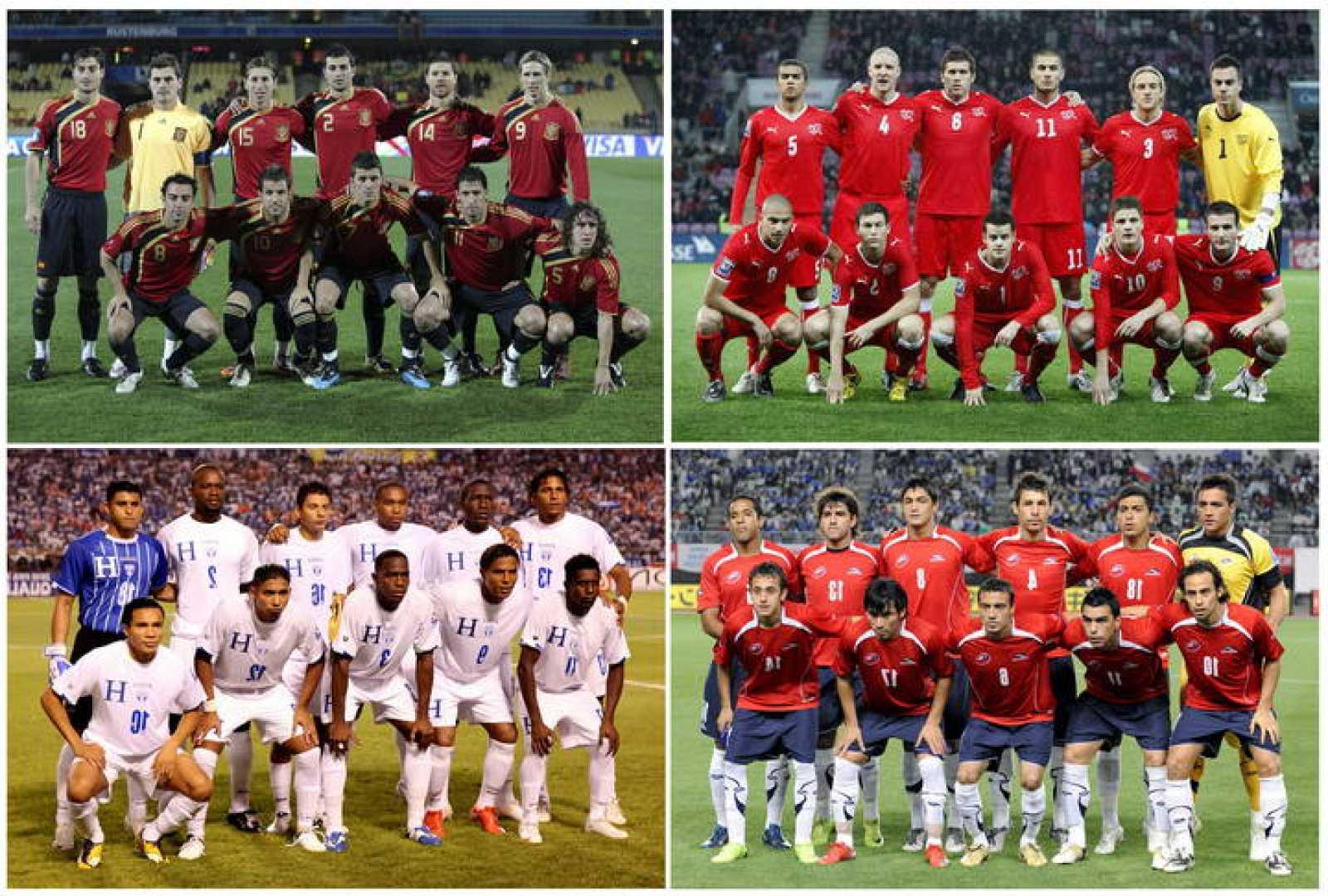 Suiza conforma junto a España, Honduras y Chile el grupo H.