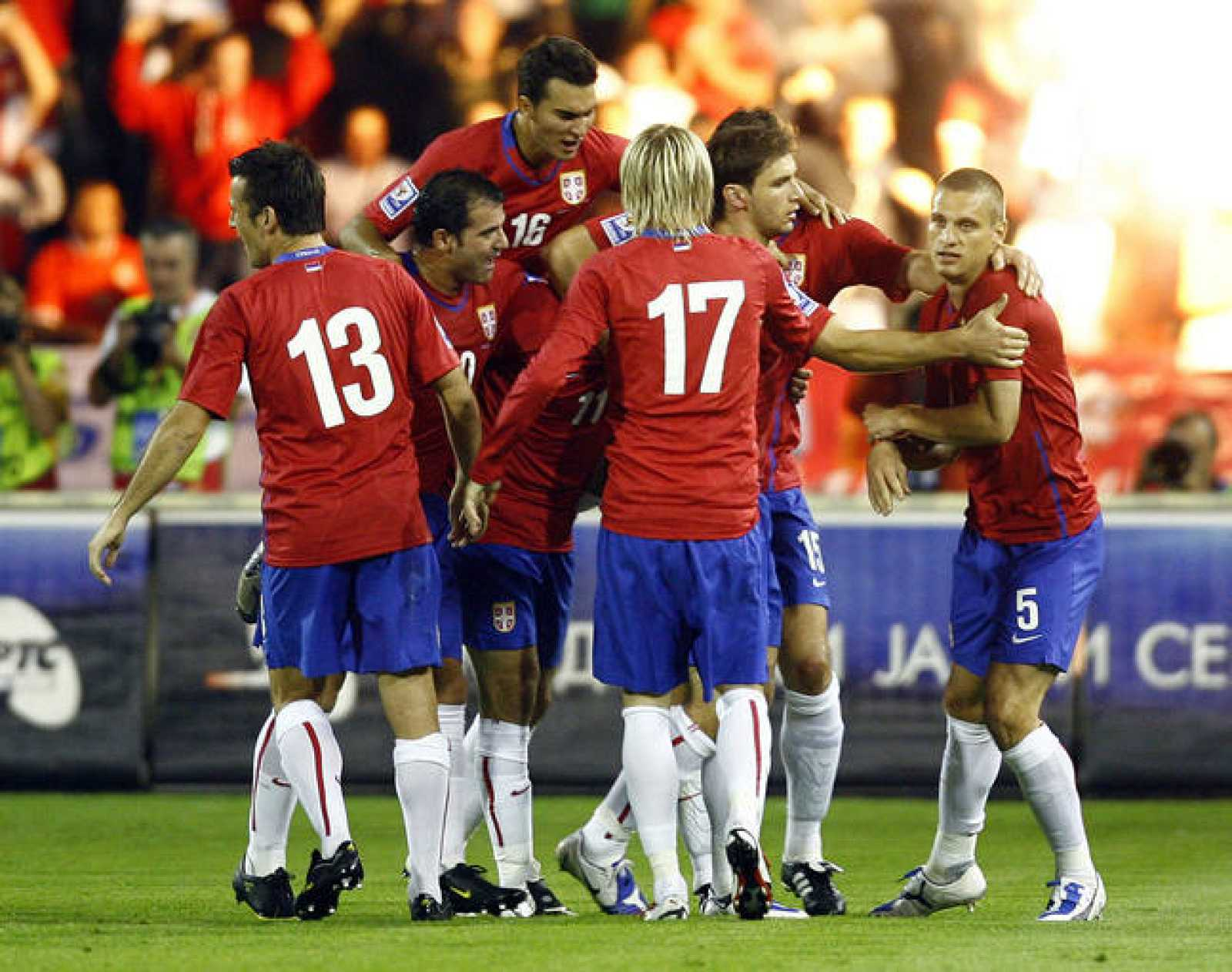 Selección de fútbol de Serbia