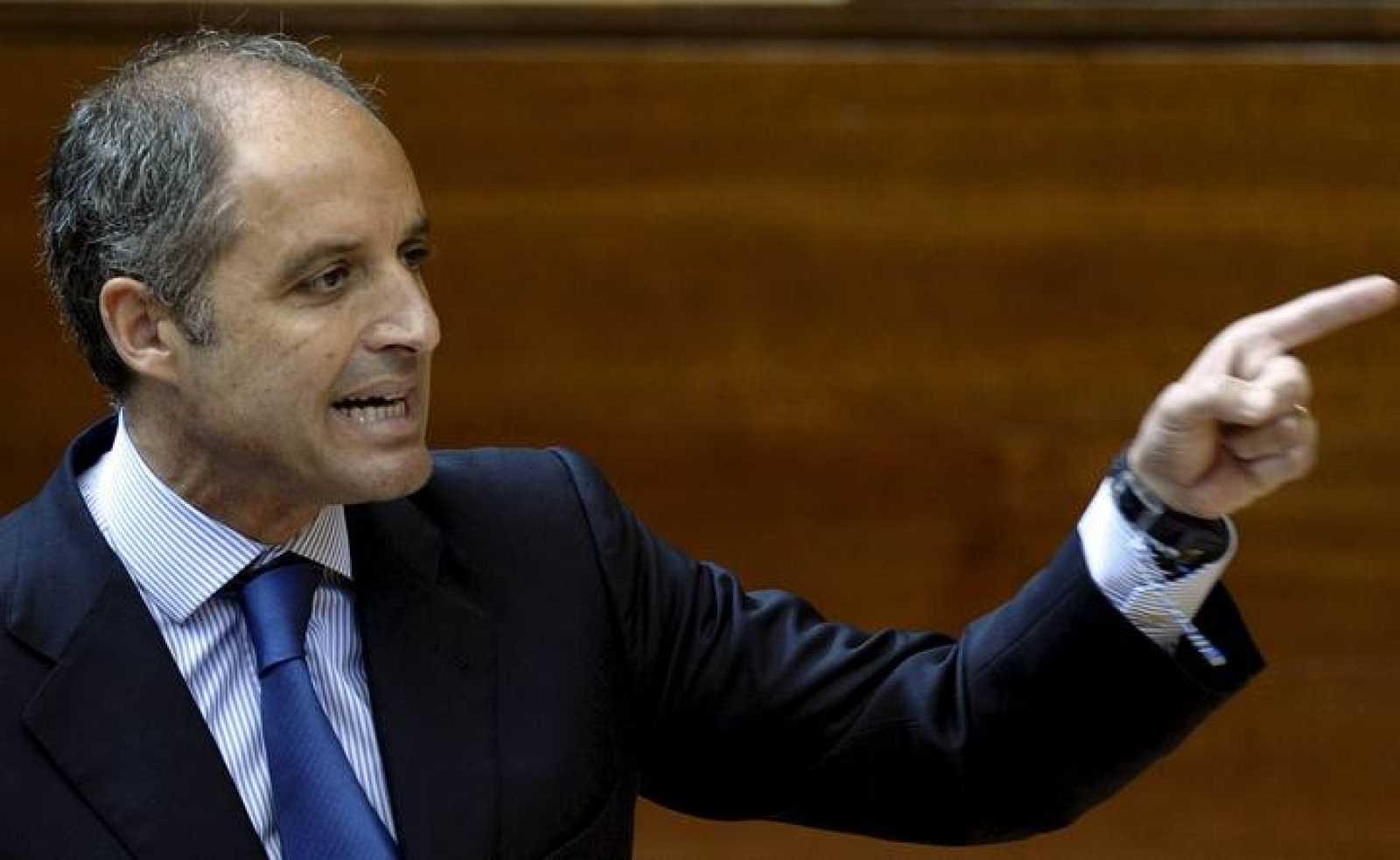 El expresidente de la Generalitat valenciana Francisco Camps en una foto de archivo.