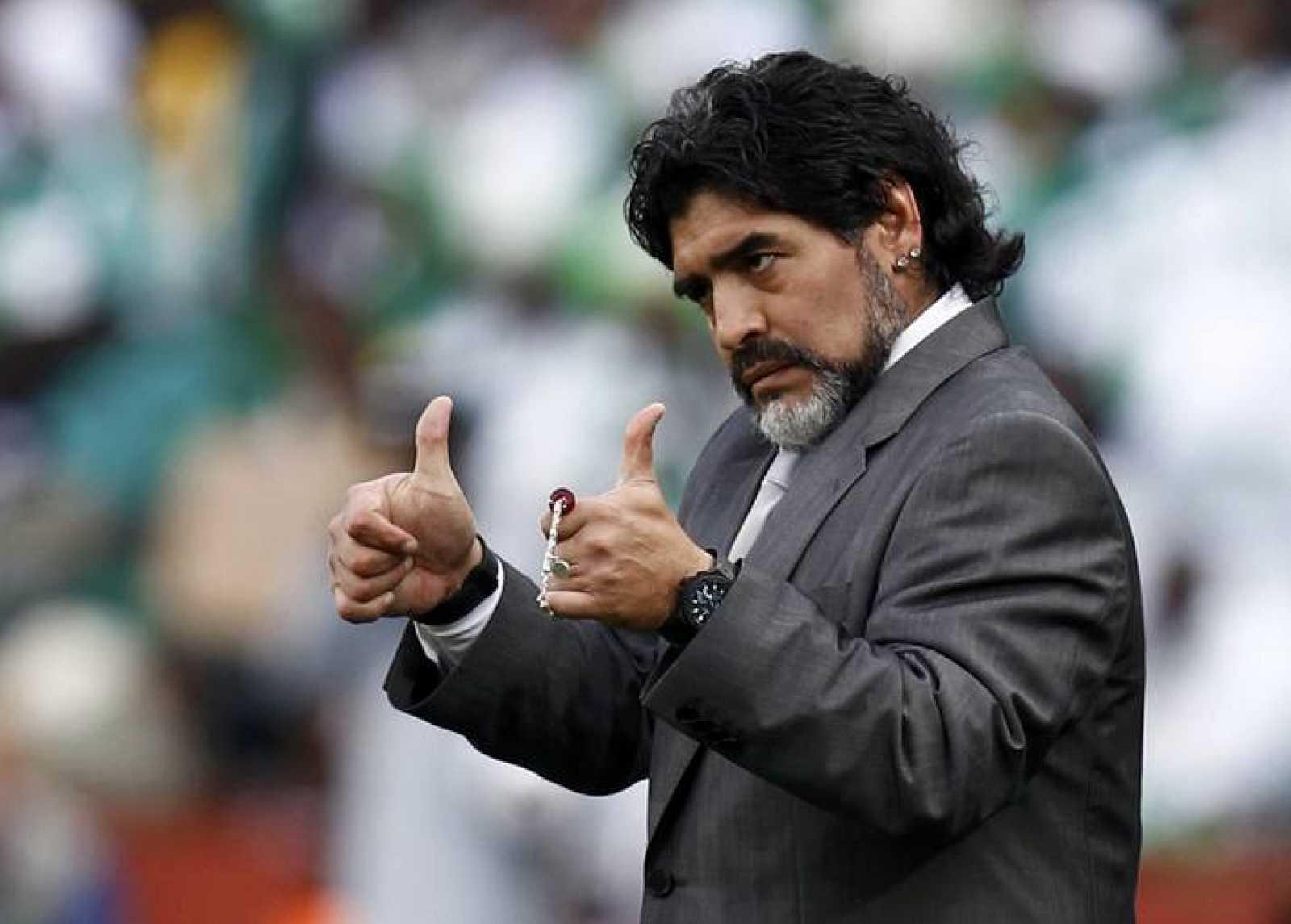 El elegante regreso de Maradona a un Mundial - RTVE.es 4d607ddd865aa
