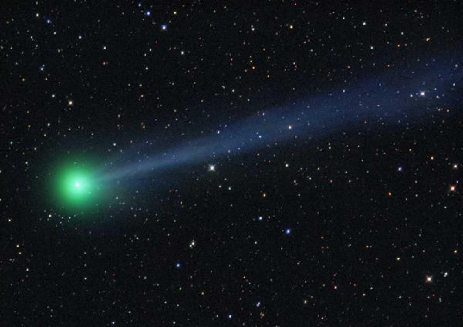 El cometa C/2009 R1 McNaugth y su llamativo color verde