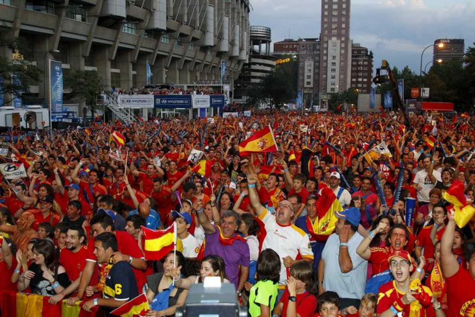 CUARTOS DE FINAL: PARAGUAY - ESPAÑA