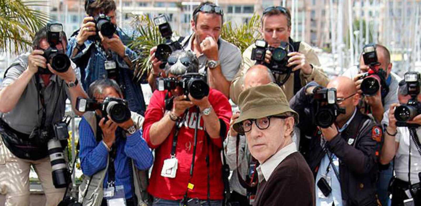 Woody Allen en el Festival de Cannes de 2010