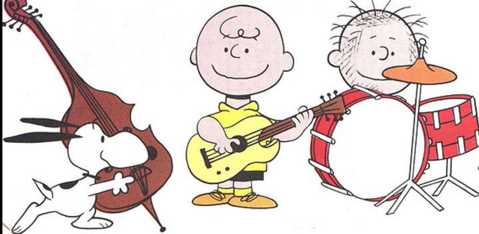 Viñeta de Carlitos y Snoopy, de Schulz