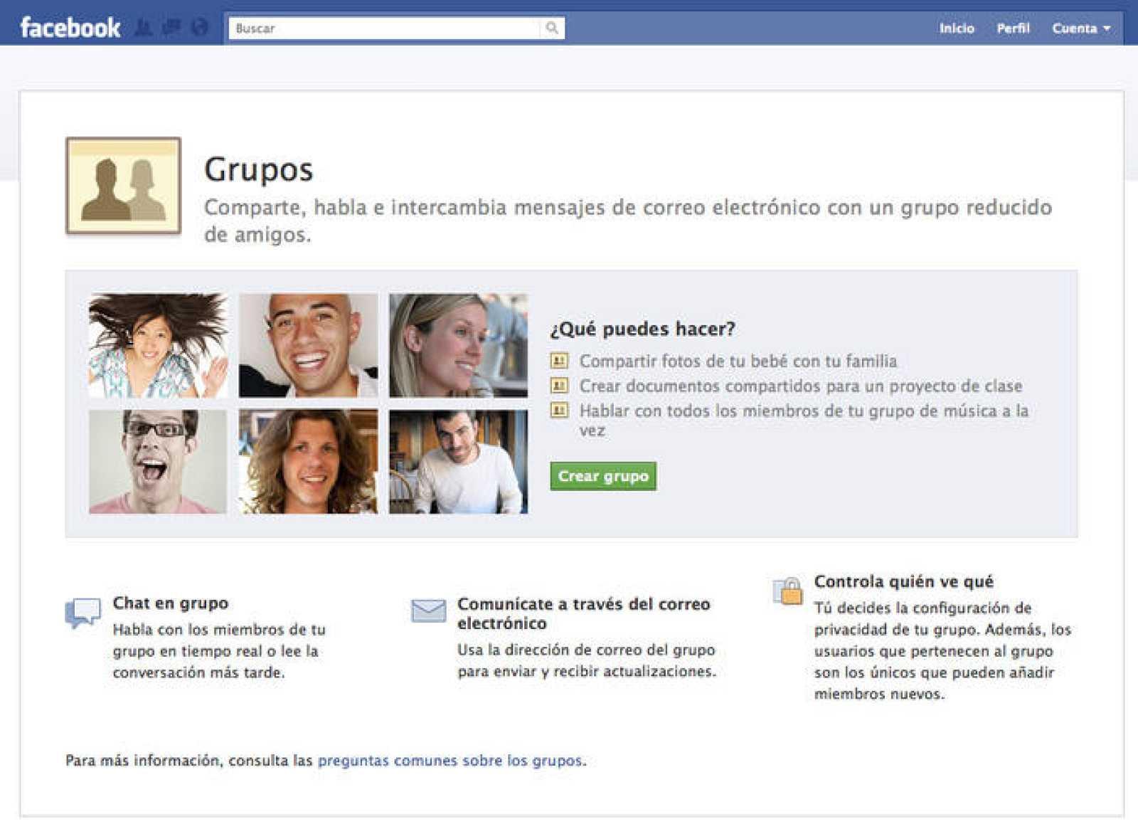 La nueva herramienta sirve para interactuar con grupos de amigos de forma separada