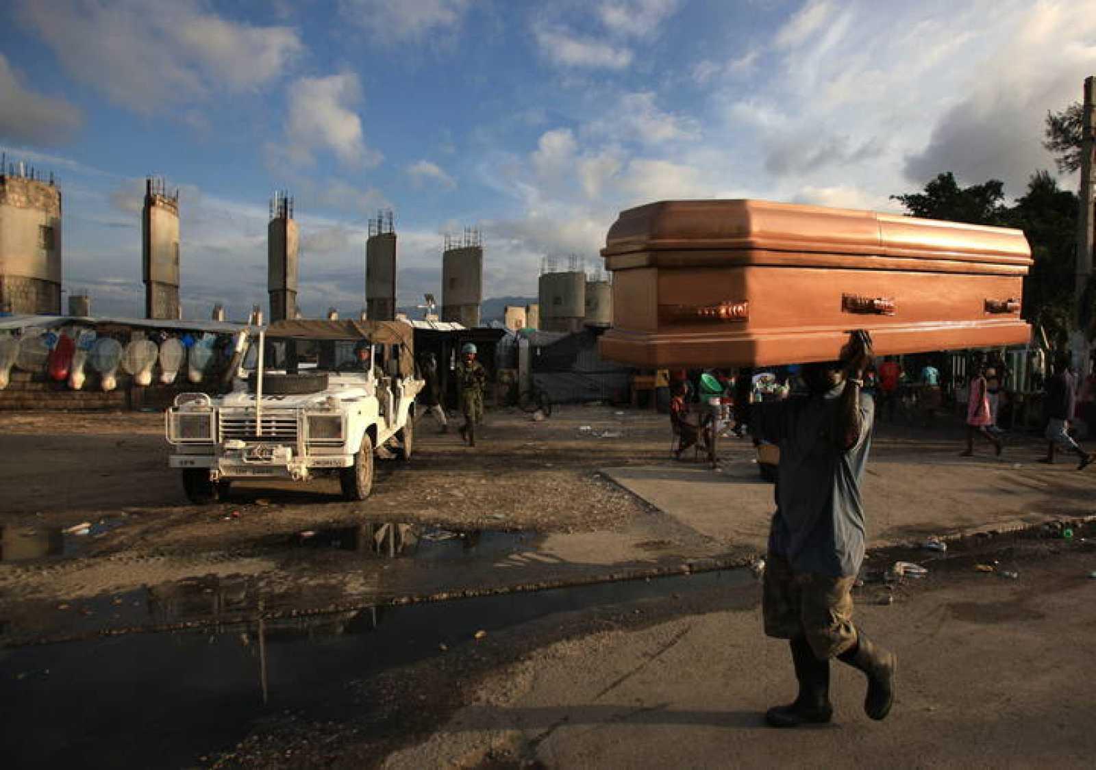 El cólera ha dejado ya más de 500 muertos en Haití.
