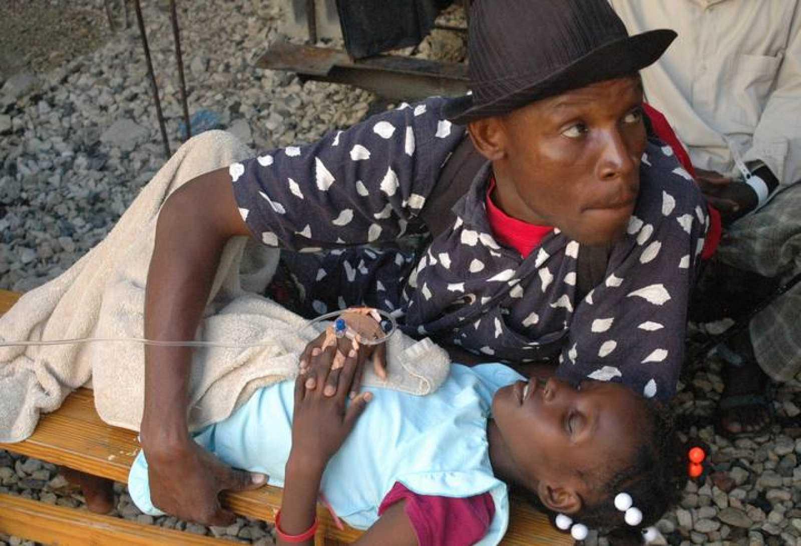 El cólera se está propagando de forma muy rápida en la capital haitiana.