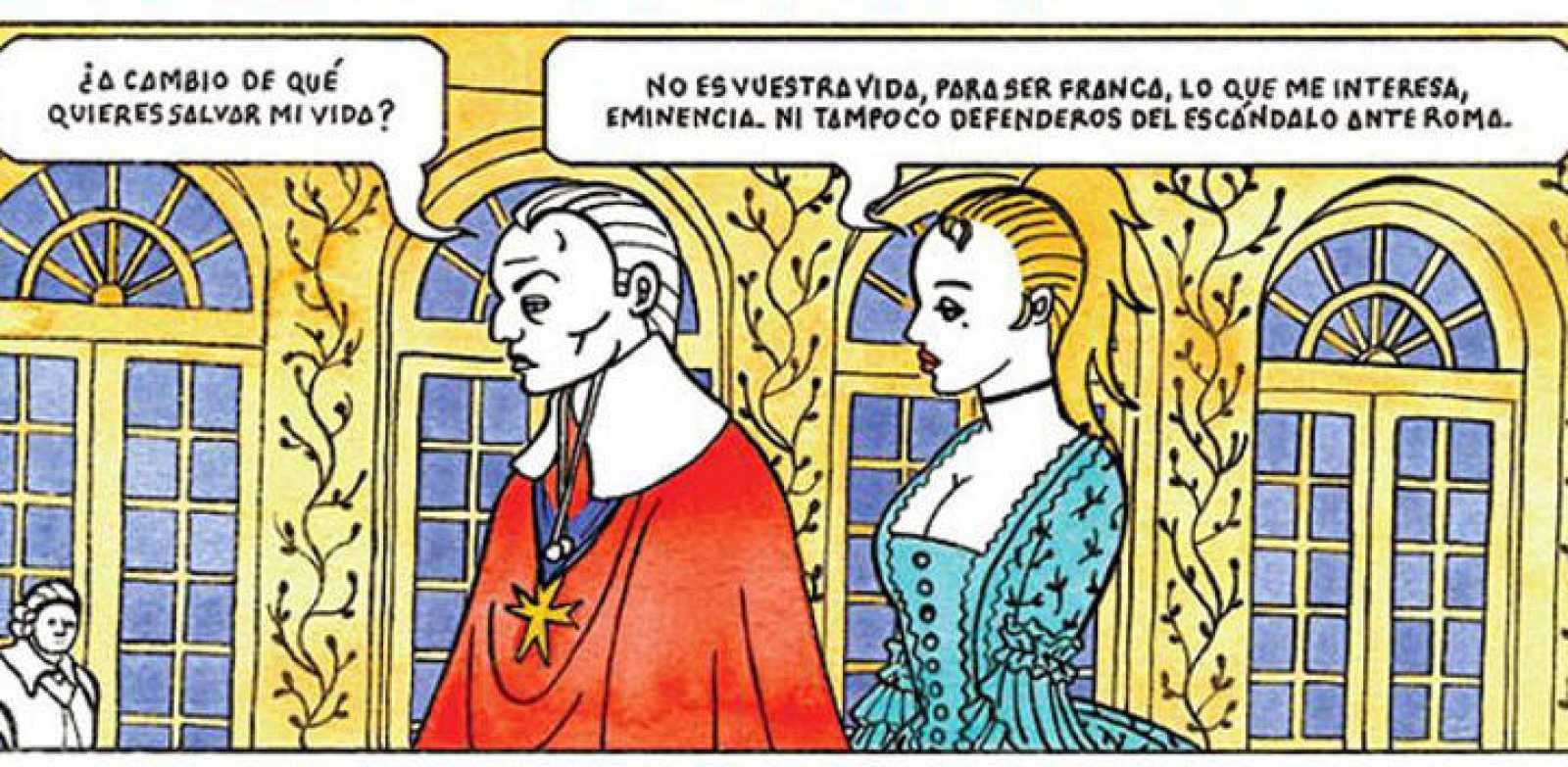Viñeta de 'Sara Servito', de Laura y Felipe H. Cava