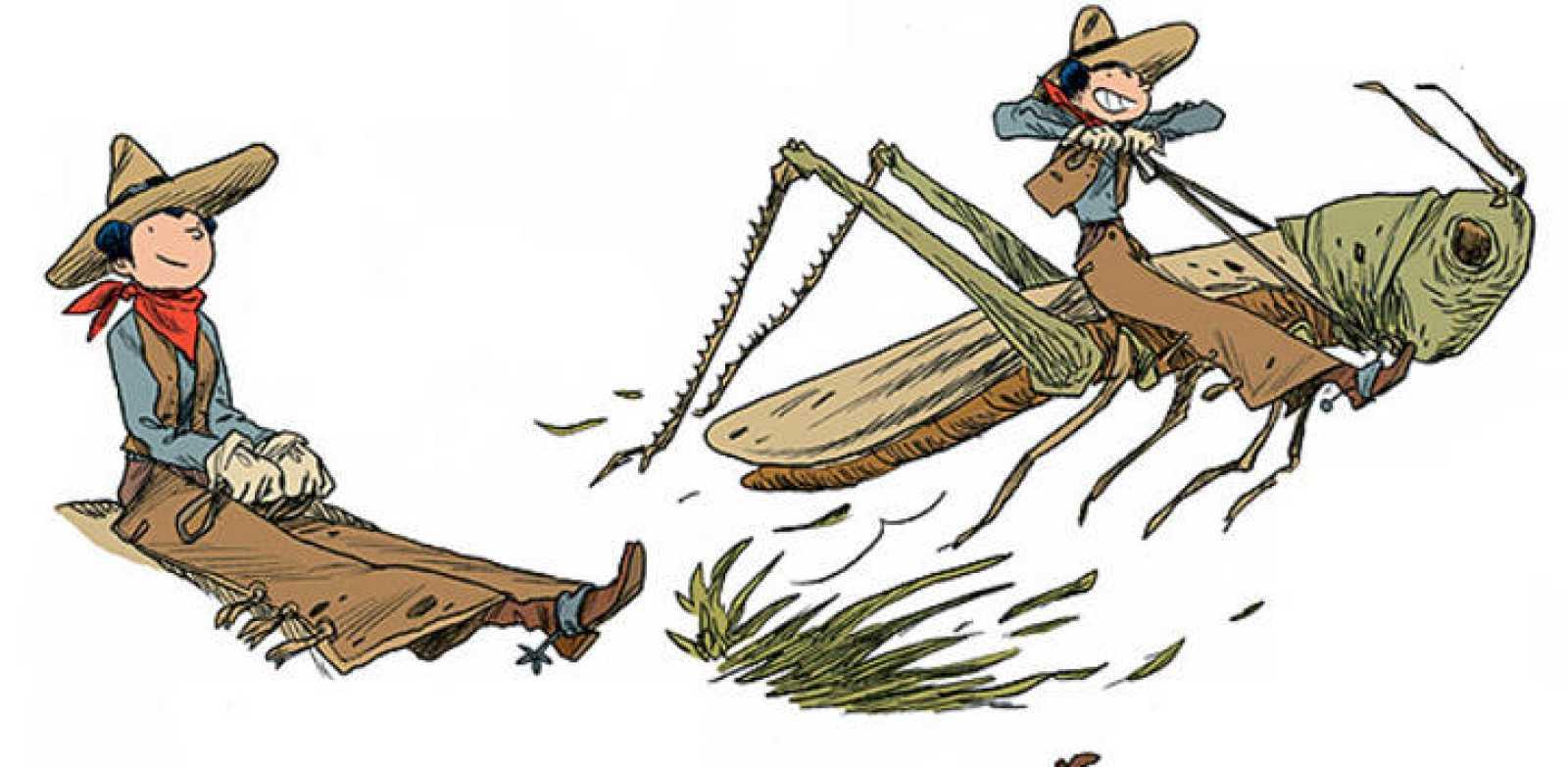 Viñetas de 'Odi's blog', de Sergio Garcia y Lola Moral
