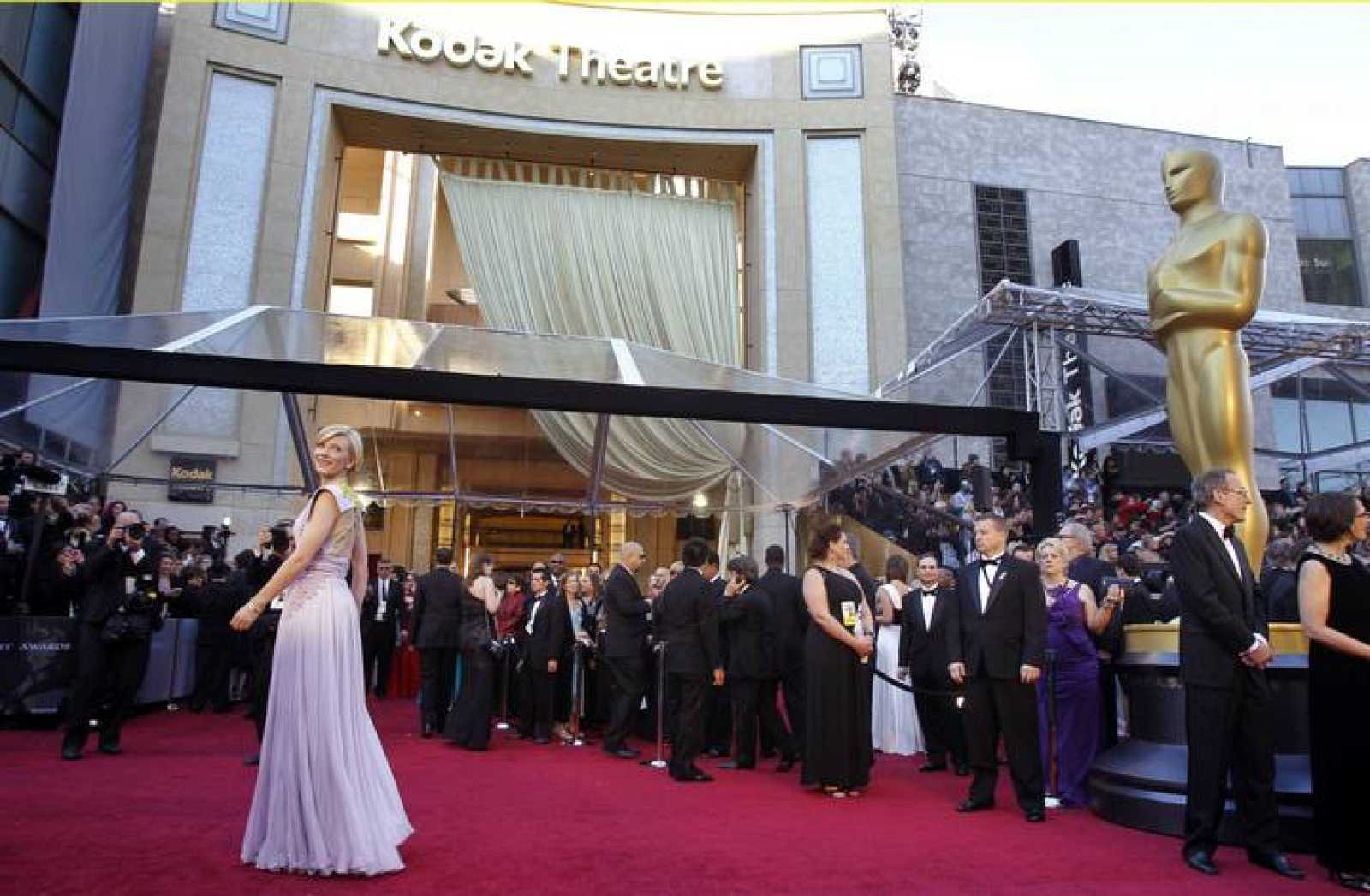 Actress and presenter Cate Blanchett arrives at the 83rd Academy Awards in Hollywood