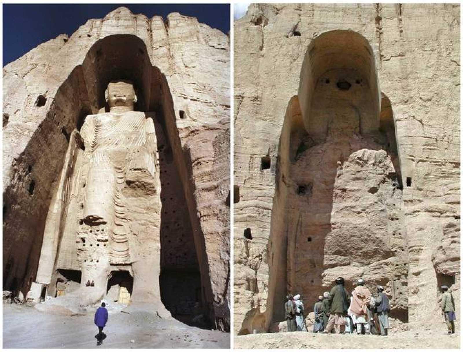Resultado de imagen de budas de afganistan