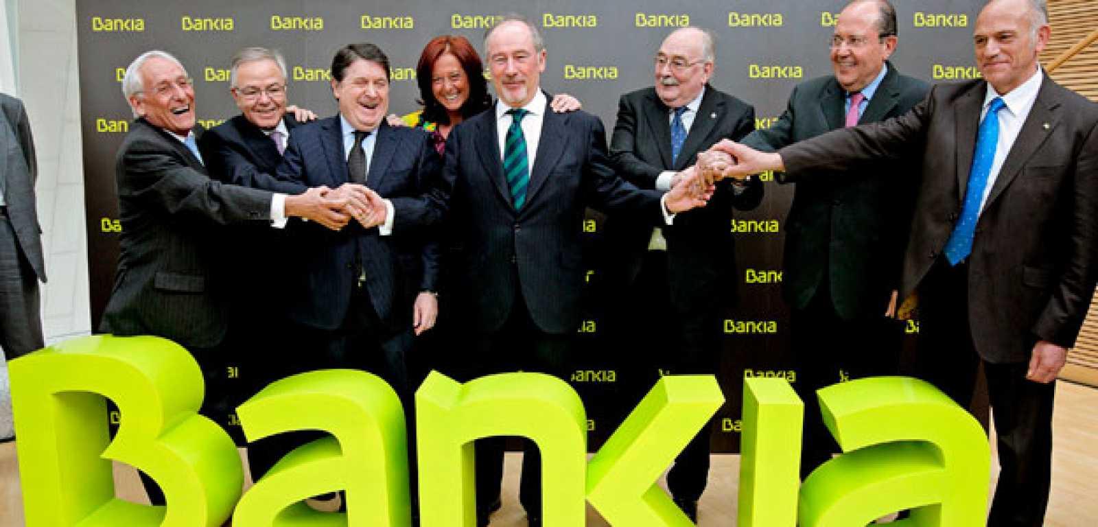 Bankia será la marca comercial de la fusión de Caja Madrid y otras seis cajas