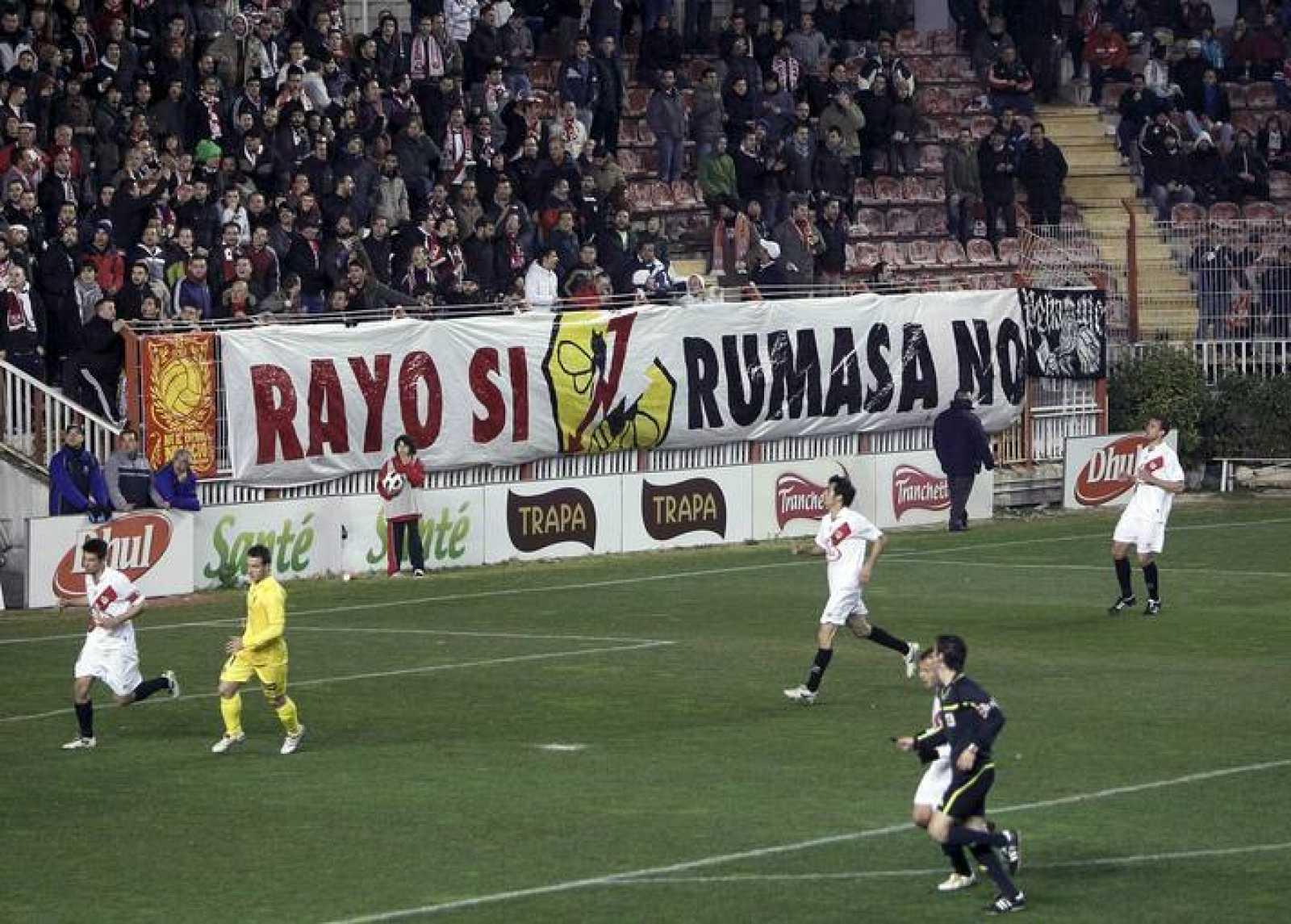 El Rayo Vallecano se acogió a la ley concursal la temporada pasada, en Segunda