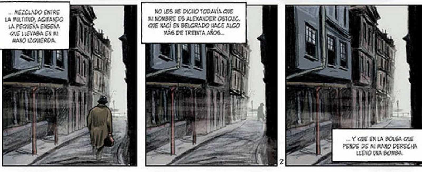 Viñetas de 'Hágase el caos. Lux', de Felipe Hernández Cava y Bartolomé Seguí