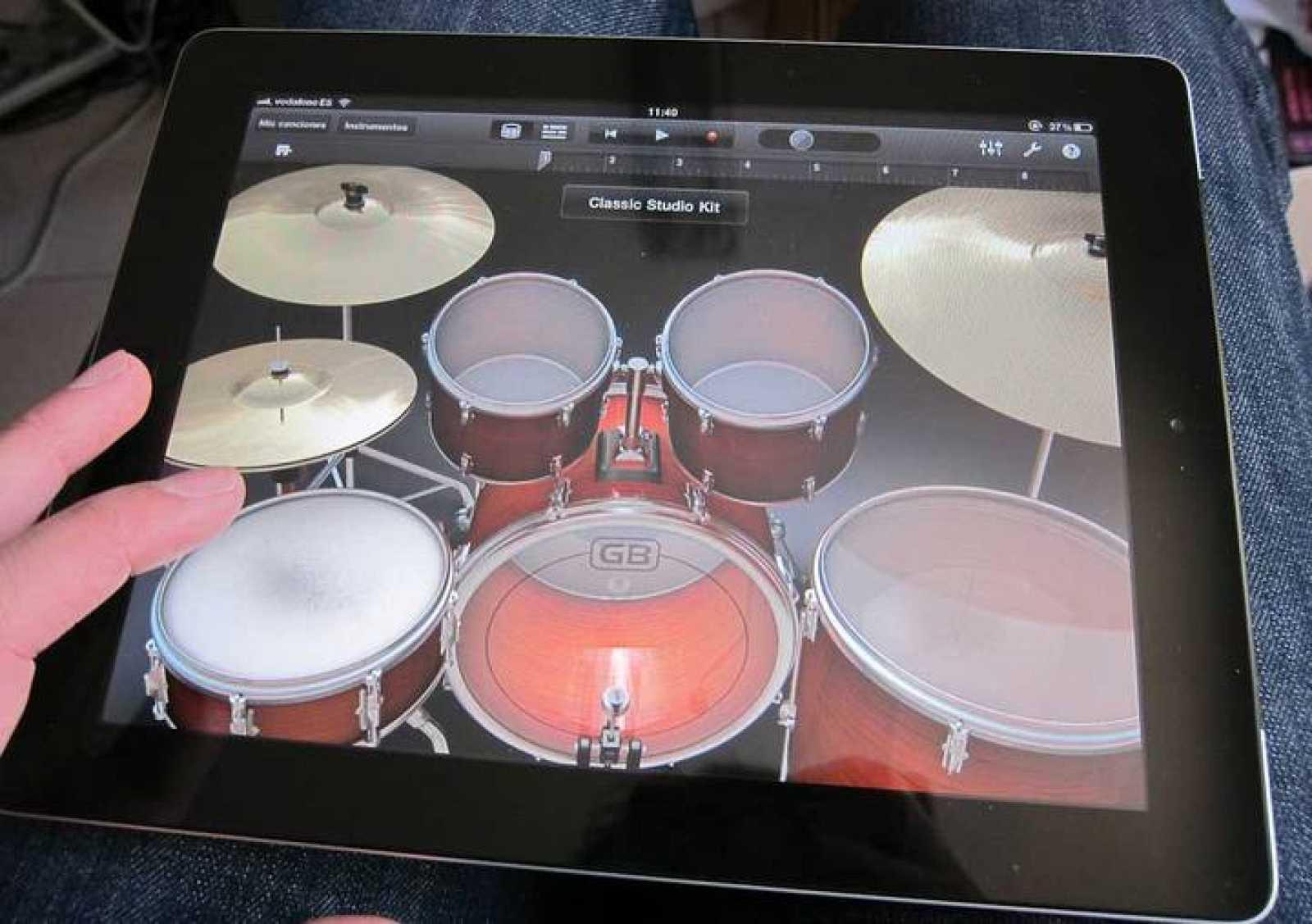 GarageBand es una herramienta de creación, una especie de estudio musical
